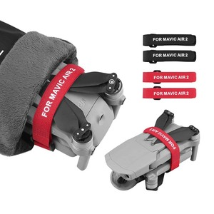 Image 1 - 2pcs Propeller Blade Mount for DJI Mavic MINI Mavic AIR 2 Pro Platinum 2 Pro Zoom Drone Magic Tape Straps Loop Ties Accessories