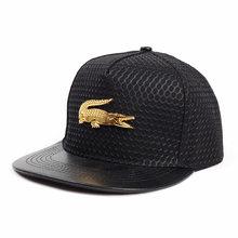 Boné de beisebol de metal fogo liso moda hipster hip-hop chapéu protetor solar malha boné para homem snapback ajustável casual ao ar livre chapéu