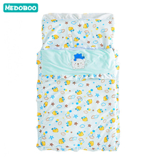 Medoboo Cotton Envelope For Newborns Cocoon Baby Sleeping Bag Maternity Hospital Discharge Kit Stroller Envelopes