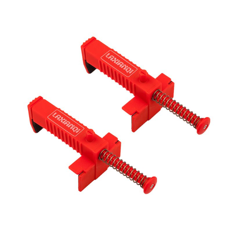 Red 1 Pair Wire Drawer Bricklaying Tool Fixer For Building Construction Fixture Hotselling 63HF