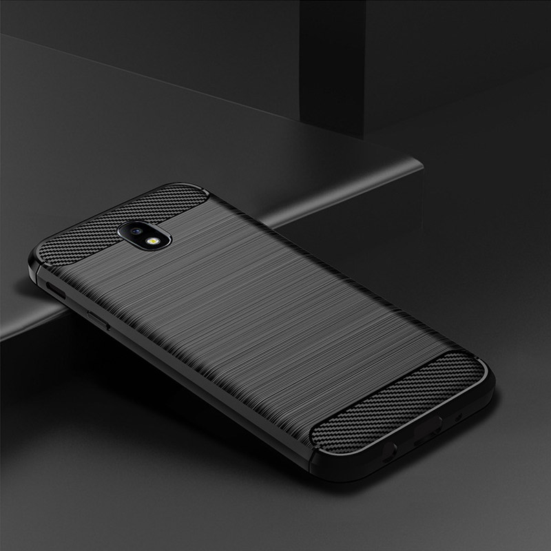 Чехол для Samsung Galaxy J7 2017, силиконовый бампер из ТПУ, ударопрочный карбоновый чехол для Samsung Galaxy J7 Pro 2017 J730 J730F, чехол