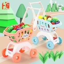 Тележка для покупок детская тележка большого супермаркета игрушечная