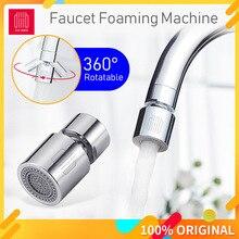 DABAI mutfak musluk havalandırıcı su difüzör Bubbler çinko alaşımlı su tasarrufu filtre memesi musluk bağlantısı çift modlu