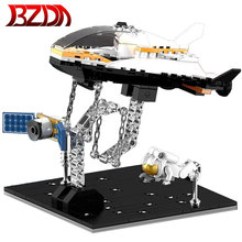 Bricks Spaceship Model Building-Blocks Astronaut Anti-Gravity BZDA Christmas-Gifts DIY