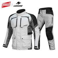 LYSCHY ветрозащитная мотоциклетная куртка водонепроницаемая мотоциклетная куртка дышащая мотоциклетная Защитная Экипировка Броня мото одеж