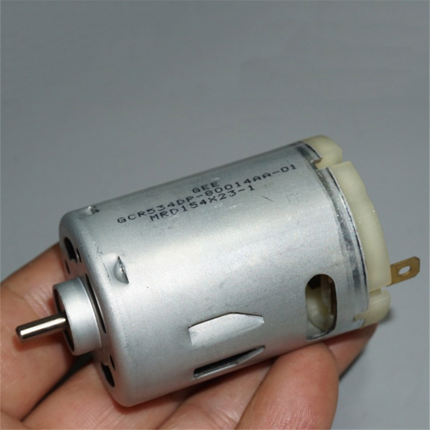 540 DC Motor 14T 540-8514 High Power/Speed Motors DC 3-7.4V 15000-87000RPM Power Motor Electric Tools Shaft Diameter 3.17mm