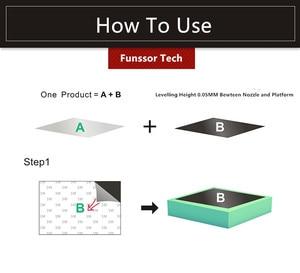 Image 2 - Funssor duży rozmiar wydruku magnetyczne łóżko z nadrukiem taśma naklejka z nadrukiem płyta do zabudowy taśma Flex Plate System