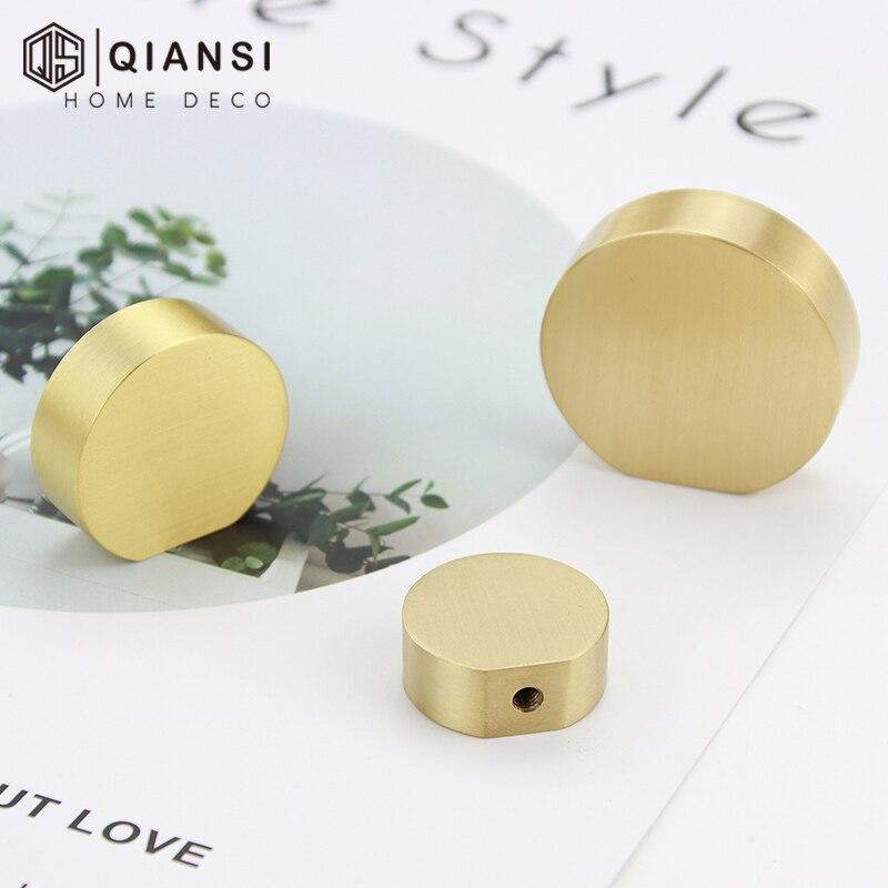 Kitchen Cabinet Handles Simple Brushed Buttons Handles For Cabinets Bedroom Dresser Drawer Handle Gold Handles Metal Brass Door Handles Aliexpress