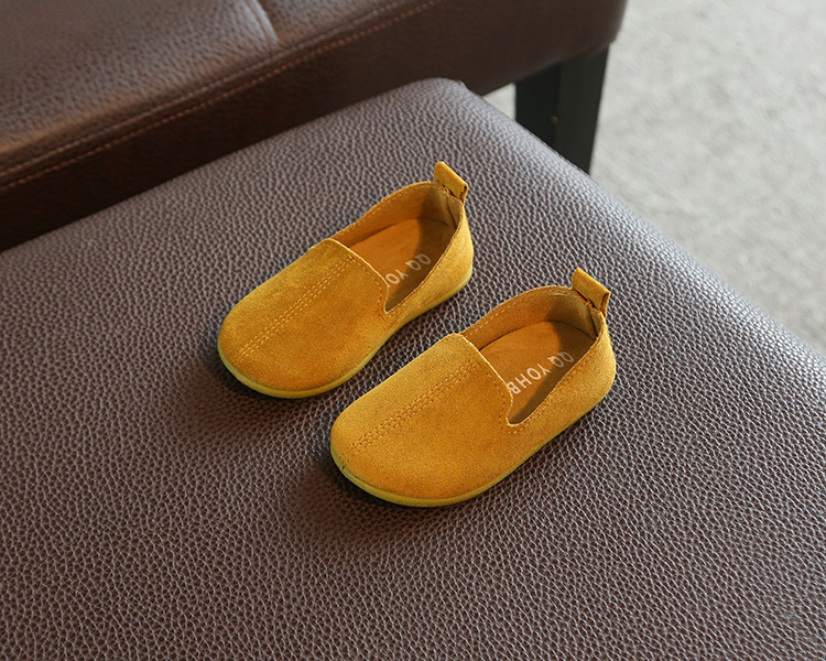 Spring Autumn Baby Girls Boys  Bean Shoes Toddler 4Colors 1-3Years 22-27 P01 TX08 6