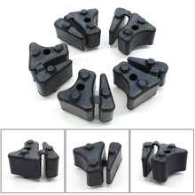 5 Pcs/Set Motorcycle Rubber Rear Wheel Damper Set for HONDA VT750 DC C CD2 Shadow OEM Sprocket Rubbers