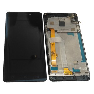 """Image 2 - Orijinal 5.0 """"Lenovo VIBE P1M P1Ma40 P1mc50 LCD ekran + dokunmatik ekran Digitizer meclisi için P1Ma40 P1mc50 LCD çerçeve ile"""