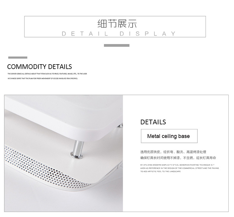 H4f94547d5a7e463592b2a5eedbcf2a1e6 Artpad Modern Flush Mount Ceiling Light Hallway Porch Balcony Lamp Interior Lighting Surface Mounted Square LED Ceiling Lights