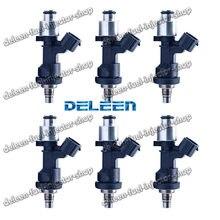 Deleen 6x alta impedância injector de combustível h onda civic d16 b18 b20 h22 para t oyota acessórios do carro