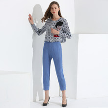 TIANPEI Miyake simplee Summer pleats New trend nine points small feet pants fashion casual ZAraing pants Women Flared trousers(China)
