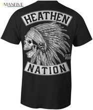 Heathen Black Chief Mens T-Shirt  Cool Casual pride t shirt men Unisex New Fashion tshirt free shipping tops ajax shirts