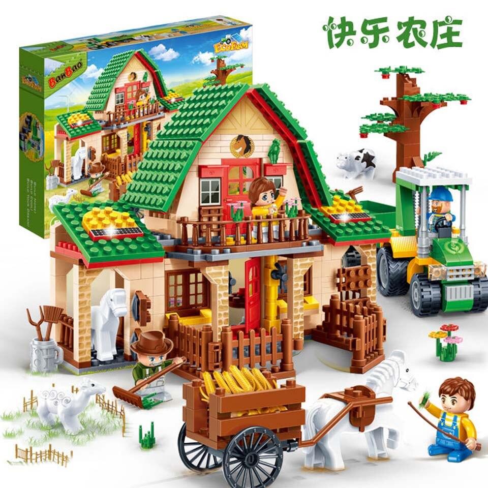 2019 nouveau Compatible legoinglys amis ferme garçon filles coeur lac équitation Club blocs de construction 594 pièces enfants modèle briques jouet ami