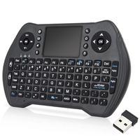 I8 mt10 2.4ghz mini teclado sem fio  com touchpad para android  tv box  pc  notebook