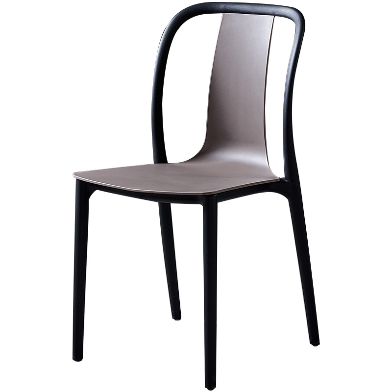 Nordic Plastic Chair Simple Modern Dining Chair Leisure Creative Chair Home Cafe Balcony Outdoor Desk Chair
