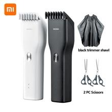 Xiaomi Enchen электрический триммер для стрижки волос USB Керамический Резак для волос быстрая зарядка волос мужской триммер машинка для стрижки рождественские подарки