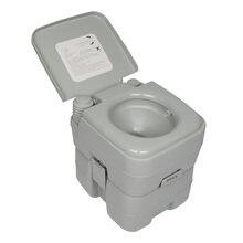 Портативный смывной туалет для автомобиля палатка кемпинга на