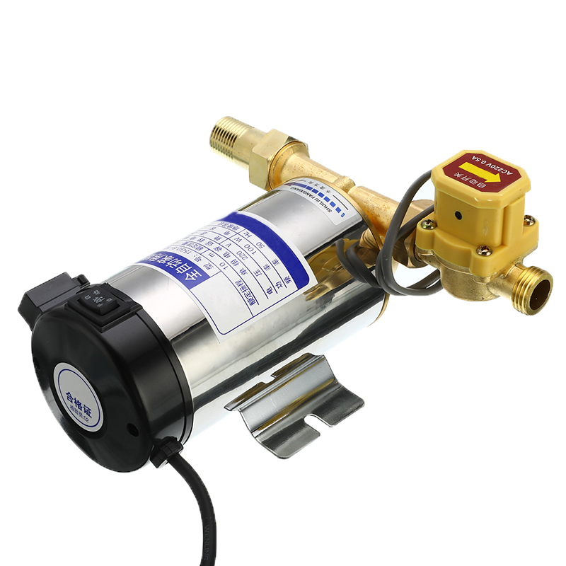 Household Mini Automatic Circulating Water Booster Pump For Tap Water Pipeline/Heater With Automatic Flow Control Switch