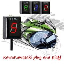 אופנוע הילוך מחוון קוואסאקי ER 6F /N Z1000SX Ninja 300 400 Z1000 Z800 Z750 versys 650 Z400 ER 6F KLE650 וולקן S 650 VN90