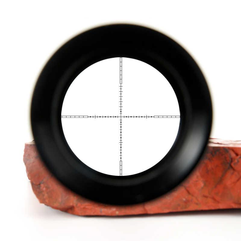 Mira telescópica táctica t-eagle EO 4-16X44 AOEG, luces rojas y verdes, Rifle de alcance para francotirador, mira óptica para caza, punto rojo