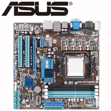 For AMD 785G ASUS M4A785T-M Motherboard Socket AM3 DDR3 16GB M4A785T M Systemboard uATX Desktop Mainboard USB 2.0 SATA II Used(China)