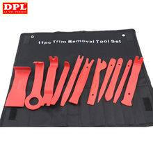 Clipes do carro kit de remoção estofos forte náilon guarnição ferramenta veículo painel traço moldagem porta rebite fivela alicate prendedor removedor