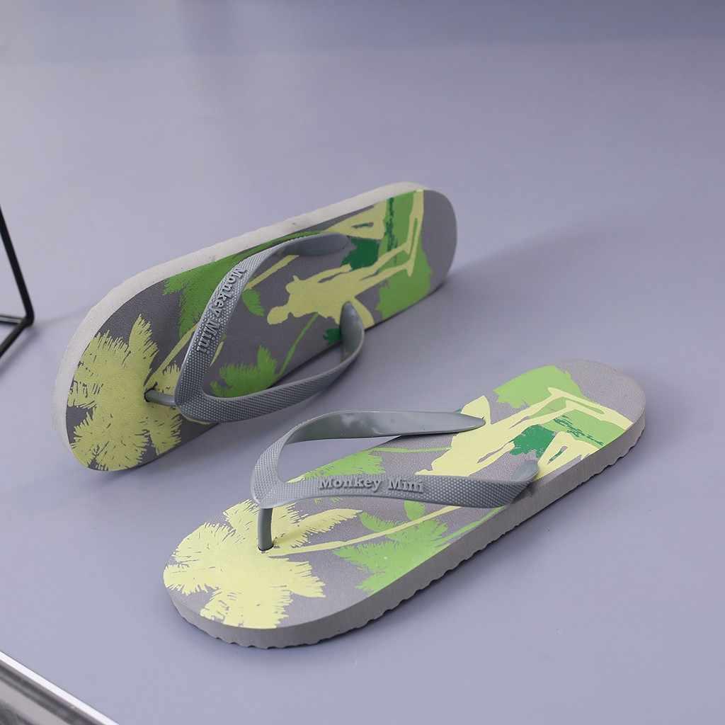 Bohemia Flip flop terlik erkekler için yaz hawaii plaj tatil rahat ayakkabılar erkek ev kapalı duş terlik hafif yeni