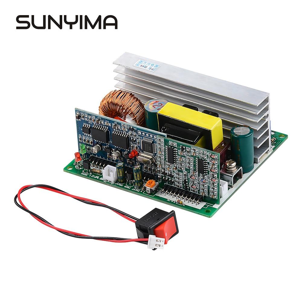 Sunyima 1pc inversor de onda senoidal pura inversor circuito 12v a 220v 800w placa motorista
