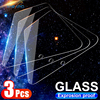 3Pcs Protective Glass for Samsung Galaxy A7 A9 2018 A6 A8 J4 Plus Screen Protector Tempered Glass for Samsung A50 A51 A70 A71 J6