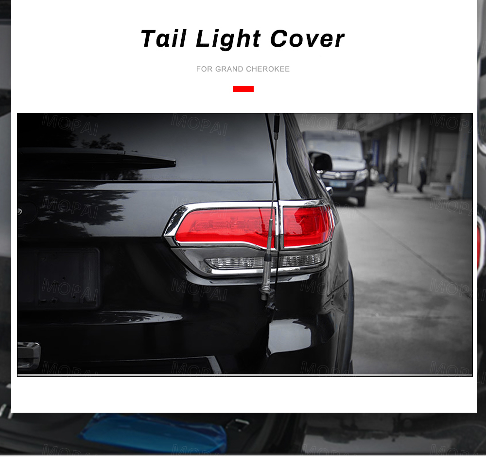Car Rear Tail Light Lamp Decoration Cover
