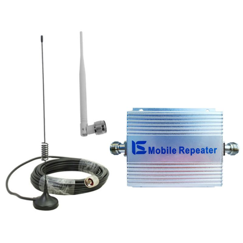 1 Set 850MHz GSM 2G/3G/4G Signal Booster Repeater Amplifier Antenna For Phone Signal Receiver