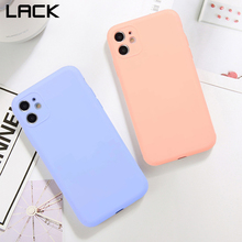 LACK Full Protection lens Candy Color Couples Phone Case for iPhone 11 11Pro Max X XS XR 7 8 6 6S Plus Soft Silicone Back Cover