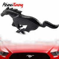 Na Mustang Day metalowa naklejka biegnący koń godło na Mustang ECO Boost GT Auto boczne skrzydło znaczek