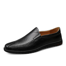 Italian Mens Shoes Casual Luxury Brand Summer Men Loafers Genuine Leather Moccasins Light Breathable Slip on Shoes %20189 цены онлайн