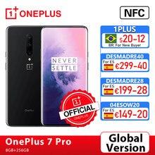 Globale Version OnePlus 7 Pro Smartphone 8GB 256GB 48MP Kameras Snapdragon 855 2K + Flüssigkeit AMOLED Bildschirm onePlus Offizielle Shop