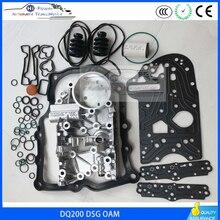 Kit de reconstrucción de transmisión DSG, carcasa de transmisión para VW, Audi, Skoda, Seat, 7 velocidades, 0, AM, DQ200