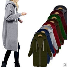 Женское бархатное пальто на молнии уличная одежда с длинными