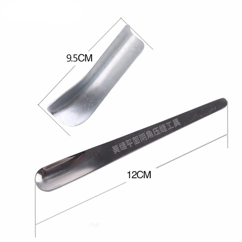 Купить с кэшбэком 2pcs/set putty knife Drywall Scraper for floor wall ceramic Tile Grout yin yang corner shovel pressure seamer Construction Tools