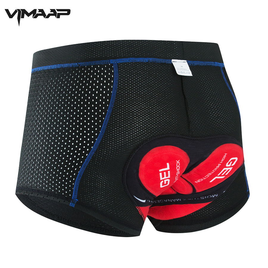 New Cycling Shorts Upgrade 5D Gel Pad Cycling Underwear Pro Shockproof Cycling Underpant Bicycle Shorts Bike Underwear