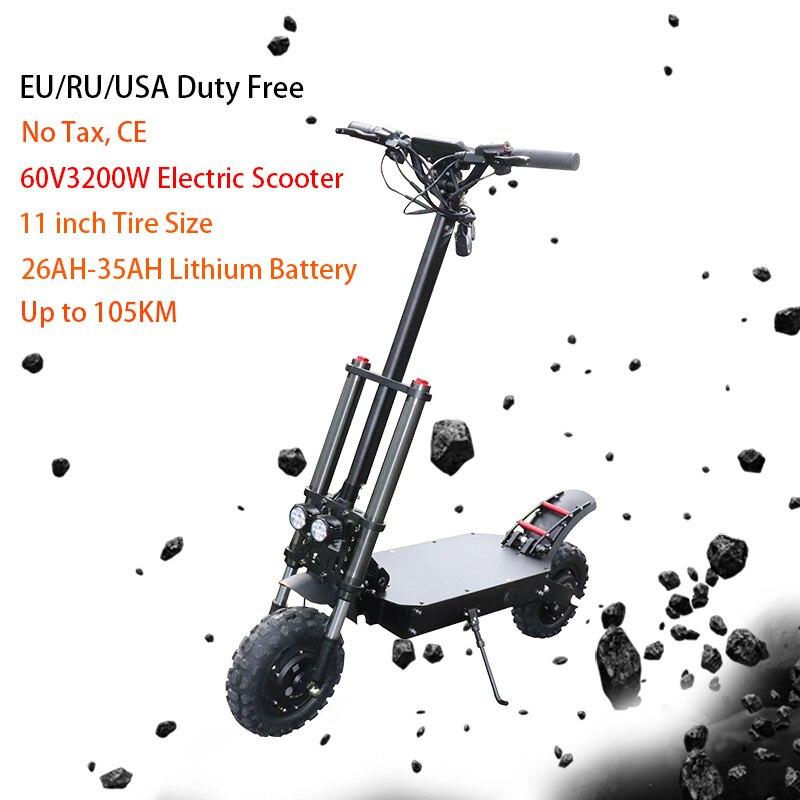 Scooter électrique haute vitesse 80 km/h 11