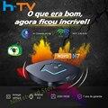 2021 оригинальный h tv box 7 Бразилия HTV7 H7 tv box HTV6 + H tv BOX 5 Tigre2 BOX H. tv 7 Бразильский Португальский box