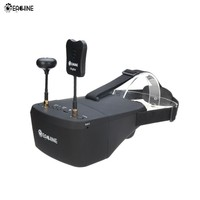 Eachine EV800D 5.8G 40CH Diversity FPV Goggles 5 Inch 800*480 Video with Super HD DVR Resolution Built in Battery