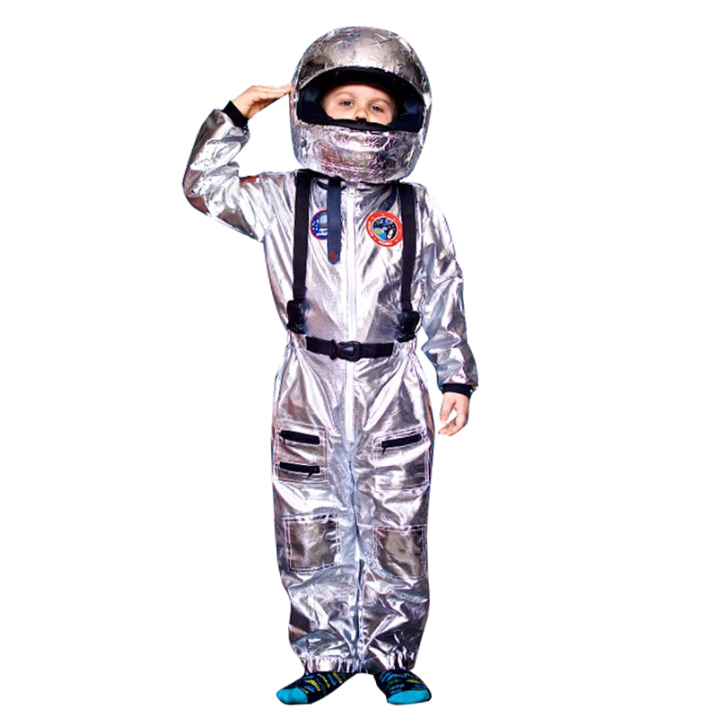 Child Astronaut Costume Kids Spaceman Costume Fancy Dress up Role Play Set