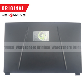 New Original for MSI Alpha 15 A3DD LCD Back Cover Rear Lid Case 3076U6A213HG01 Black