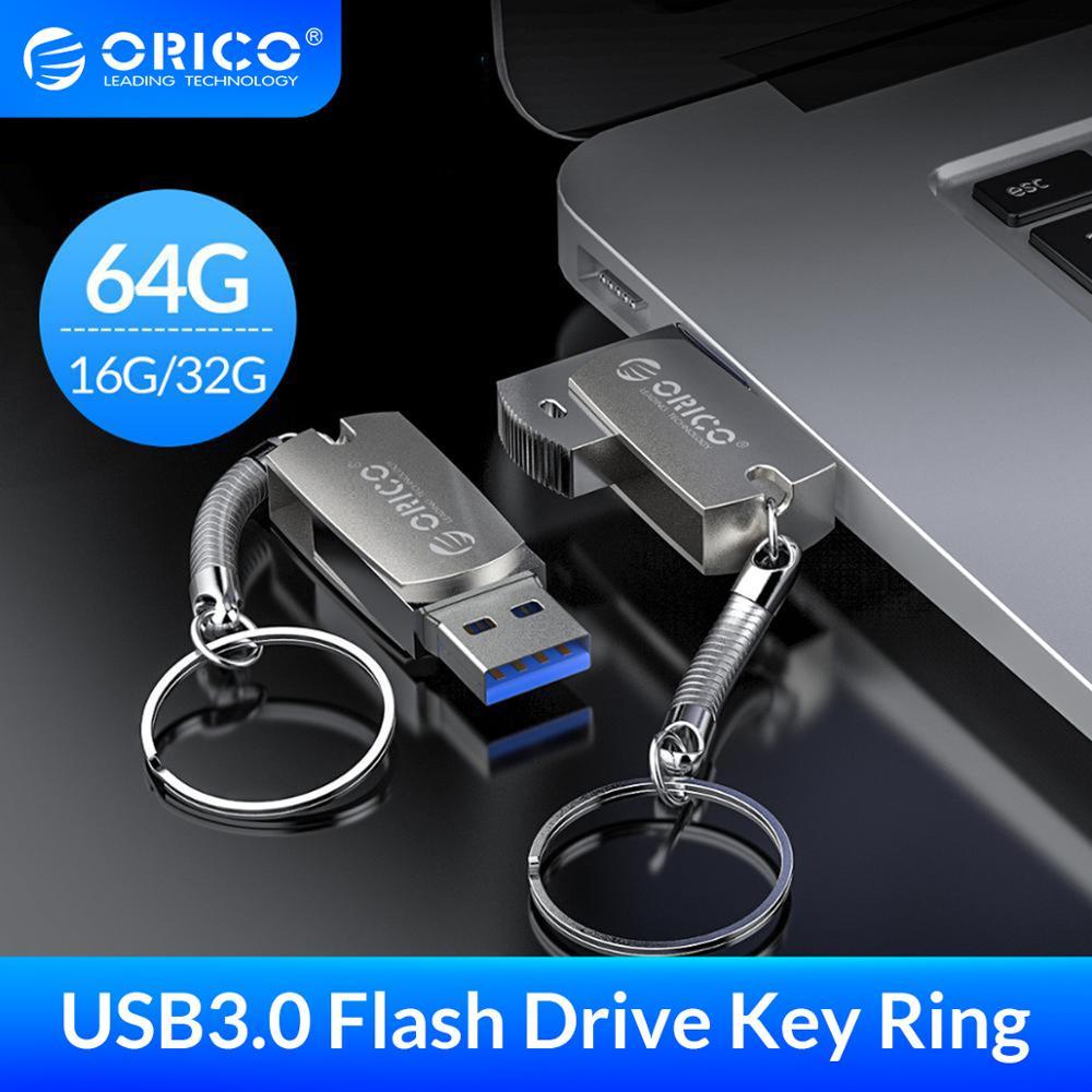 ORICO USB 3,0 Flash Drive 64GB 32GB 16GB 3,0 GB USB de memoria Flash USB Stick Almacenamiento de anillo disco Flash Drive флешк
