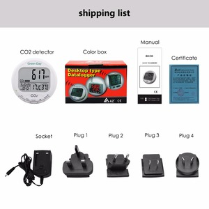 Image 5 - AZ7788 Indoor air quality monitor CO2 detector tester meter gas detector Thermometer hygrometer humity CO2 monitor gas Analyzer