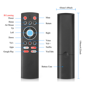 Image 5 - T1 Voice Remote Control 2.4G Air Mouse G10 Gyroscope For Google Player Youtube Tx6 T95 max Q plus X88 Pro A95X F2 Tv Box